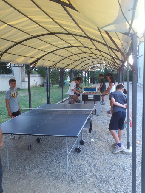 Ping pong e biliardino